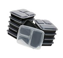 Paksh Novelty Meal Prep Lunch Containers 3-Compartment with