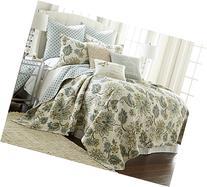 Levtex Palladium Grey Full/Queen Cotton Quilt Set Cream,