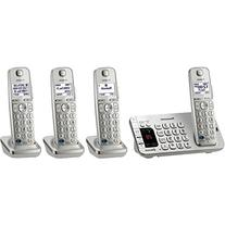 Panasonic Link2Cell Bluetooth  KX-TGE274S 4 Handsets