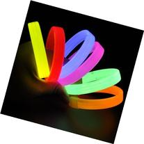 Party Lovers Glow In The Dark Extra Wide Glow Sticks with