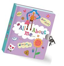 Peaceable Kingdom All About Me Lock and Key Diary