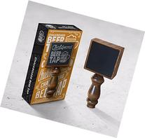 Proper Pour Chalkboard Beer Tap Handle Display Made of Wood