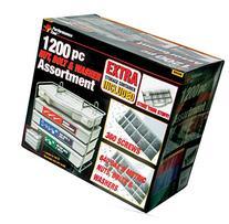Performance Tool W5226 1,200pc SEA/Metric Nut & Bolt