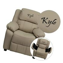 Personalized Deluxe Kids Recliner