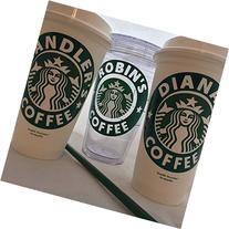 Personalized Reusable Starbucks Coffee Cup 16oz Free
