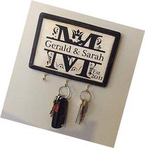 Personalized Wedding Gift- Monogram Key Holder. Awesome for