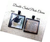 Pet Memorial Jewelry - Personalized with Photo on Front and