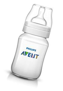 Philips AVENT Classic Plus BPA Free Polypropylene Bottle, 9