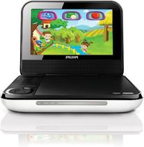 Philips PD703/37 7-Inch LCD Portable DVD Player with