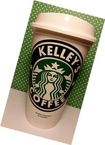 Piece of Cake Parties Personalized Reusable Starbucks Travel