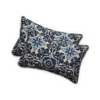 Pillow Perfect Outdoor/Indoor Woodblock Prism Rectangular