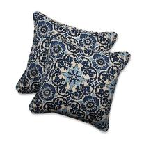 Pillow Perfect Outdoor/Indoor Woodblock Prism Throw Pillow