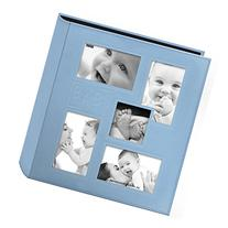 """Pioneer Collage Frame Embossed """"Baby"""" Sewn Leatherette Cover"""