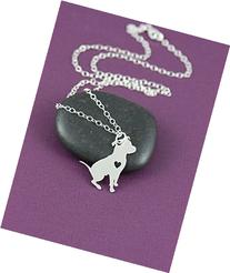 Pitbull Rescue Necklace - IBD - Personalize with Name or