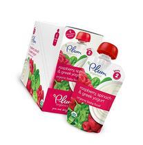 Plum Organics Stage 2, Organic Baby Food, Apple, Raspberry,