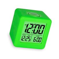 Easy Setting Digital Travel Alarm Clock with Snooze, Soft