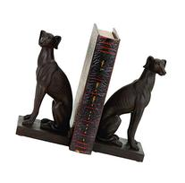 Polystone Dog Bookend Pair Designed for Elite Class