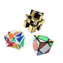 Magic Speed Cube Puzzle Set, Including Fluctuation Angle,