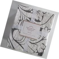 Pottery Barn BELGIAN FLAX LINEN DAMASK Duvet Cover Full/