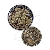 Prayer Whole Armor of God Commemorative Challenge Coin