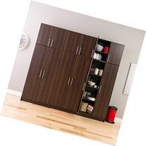 """Prepac Espresso Elite Stackable Wall Cabinet, 32"""", Brown"""