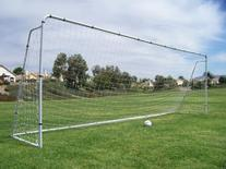Official MLS/FIFA Size 24 X 8 X 5 Ft. Steel Soccer Goal.
