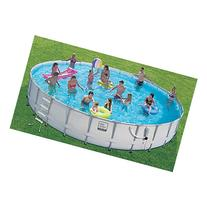 Proseries Frame Pool Set with Mosaic Print 24 Ft