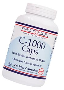 Protocol For Life Balance - C-1000 Caps with Bioflavonoids