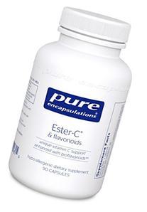 Pure Encapsulations - Ester-C & Flavonoids - Hypoallergenic