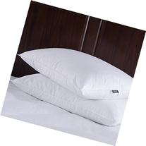 Puredown Feather and Down Pillow, Standard Size, Set of 2