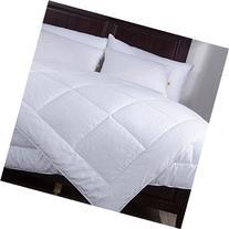 Puredown White Down alternative Comforter Duvet Insert-Full/