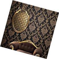 QIHANG European style Gold - Flecked Process Damascus Non-