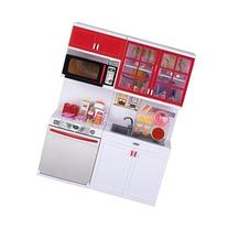 QUN FENG Girls Modern Toy Kitchen Playset, Perfect for Use