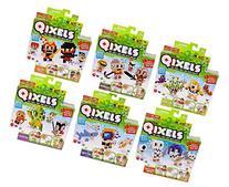 Qixels Refill 6 Pack Bundle - Monsters, Medieval, Deep Sea,