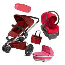 Quinny - Buzz Xtra Complete Collection - Red and Pink