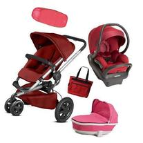 Quinny - Buzz Xtra MAX Complete Collection - Red and Pink