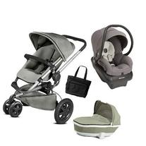 Quinny - Buzz Xtra Travel System with Bassinet and Bag -