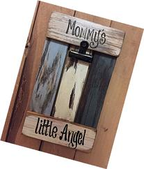 PHOTO HOLDER Wood Pallet Wall Picture Frame Reclaimed