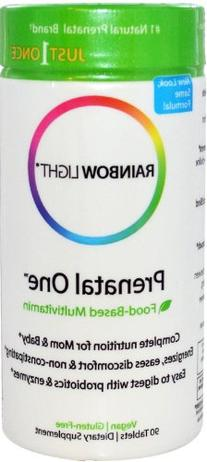 Rainbow Light Prenatal One Just Once Food Based Multivitamin