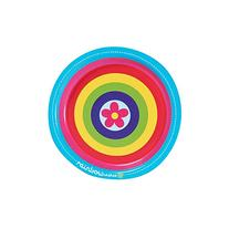 Rainbow Wishes Party Supplies - Dessert Plates