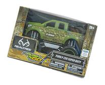 RealTree Camo Green Ford F-250 Super Duty Friction Push N Go