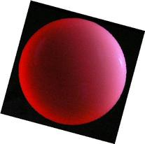 "Red Fire UV Acrylic Contact Juggling Ball - 2.95"" - 76mm"