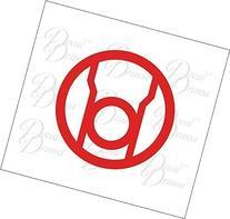 Red Lantern Corps  emblem Vinyl Car Decal