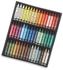 Reeves Set of 48 Water Soluble Wax Pastels