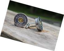 Remington 12 Gauge Silver Shot Gun Shell Cuff Links