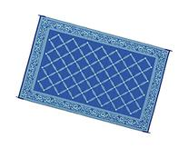 Reversible Mats 116093 Blue/Light Green 6'x9' RV Garden Mat