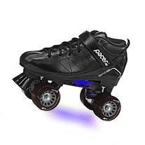Revive Light-Up Roller Skate - Black sz 8