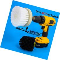 Revolver Drill Brush - Power Scrubbing Drill Attachment -