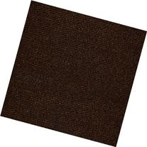 "Ribbed Carpet Tiles Residential Flooring Self Adhering 18"""