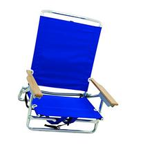 Rio Beach 5 Position Classic Lay Flat Backpack Beach Chair,